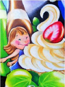 ソフトクリーム 少女
